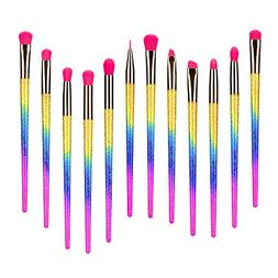 Party Queen Makeup Brushes Set 12 Pieces Eyeshadow Eyeliner