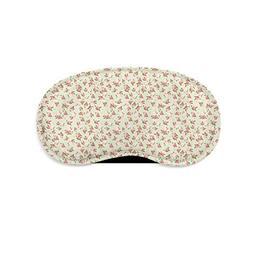 Shabby Chic Roses on Green Sleeping Mask Travel