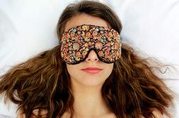 Weighted Sleep Eye Mask Pillow Handmade by Candi Andi - Adju