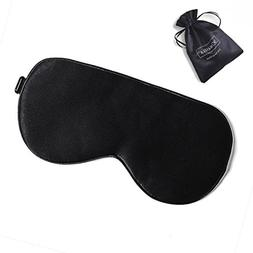 ZIMASILK Adjustable Mulberry Silk Sleep Mask Blindfold 100%