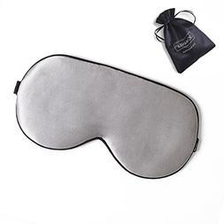 ZIMASILK Adjustable Mulberry Silk Sleep Mask Blindfold 100%
