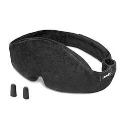 Cabeau Adjustable Sleep Mask and Eye Shades - Midnight Magic