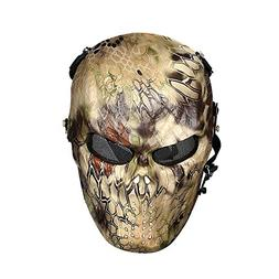 OutdoorMaster Airsoft Mask - Full Face Mask Mesh Eye Protect