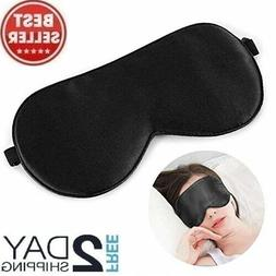 Alaska Bear Natural Silk Sleep Mask Blindfold Super Smooth E