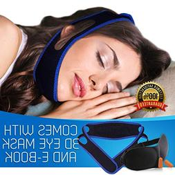 Anti Snoring Chin Strap Snore Device for Men and Women with