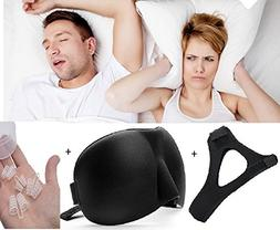 Anti Snoring Chin Strap Snore Relief, Best Snoring Remedy, S