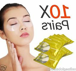 10X Pairs Anti-Wrinkle Dark Circle, Collagen Under Eye Patch