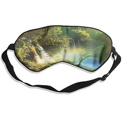 Apple Tree Pure Silk Sleeping Mask Reusable Cold To Improve