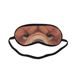 Eye Mask ATEM154 Chow Chow Dog Sleeping Mask Relax Travel Pa