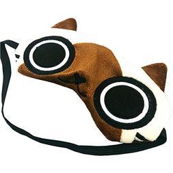 Ayygift Creative Cartoon Novelty Cat Sleeping Eye Mask Cover