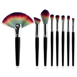 KaiCran 8 Pcs Beauty Makeup Brushes Set Advanced Beauty Cosm