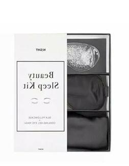 Night Beauty Sleep Kit Silk Eye Mask Pillowcase