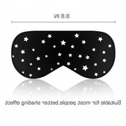- LONFROTE Stars Natural Silk Filled Sleep Eye Mask for Sle
