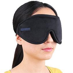 PeNeede 100% Blackout 3D Sleeping Eye Mask Contoured, Soft M