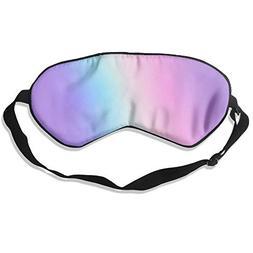 yan Blinder Purple Light 100% Natural Silk Sleep Mask,Adjust