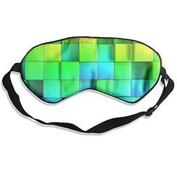yan Blinder Seven Color Brick 100% Natural Silk Sleep Mask,A