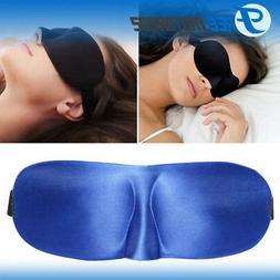 blue eye mask travel 3d sleep sleeping