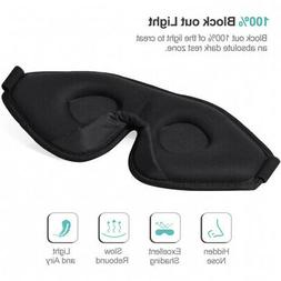 - Sleep Mask for Women & Men, Unimi Upgraded 3D Contoured E