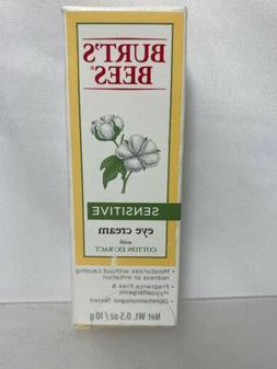 Burt's Bees Sensitive Eye Creme with Cotton Extract Moisturi