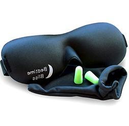Sleep Mask  Contoured & Comfortable With Moldex Ear Plug Set