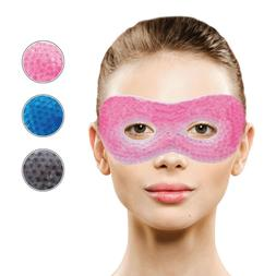 Cooling Gel Eye Mask Soothing for Puffy Eyes, Headaches & Si