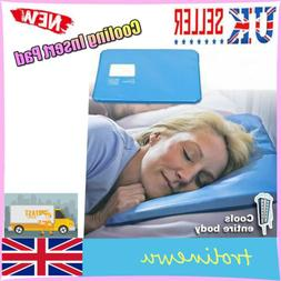 cooling insert pad mat aid sleeping therapy