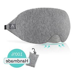 Cotton Sleep Eye Mask - Light Blocking Sleep Mask, Comfortab