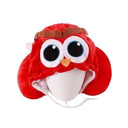 WDDH Creative U Shaped Neck Pillow Cartoon Animal Cap Hat Tr