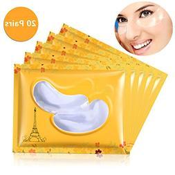 Pevor Crystal Transparent Gel Collagen Eye Mask Ultra-Thin E