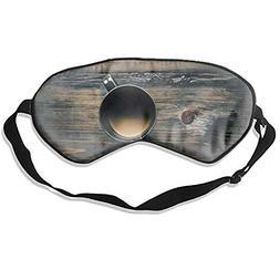 Cup Sleep Eye Mask 100% Mulberry Silk Blindfold Travel Sleep
