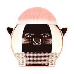 KaiCran Cute Cat Makeup Brush Foundation Powder Contour Powd