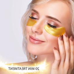 DARK CIRCLE EYE MASK PRO COLLAGEN PADS GOLD TREATMENT PATCHE