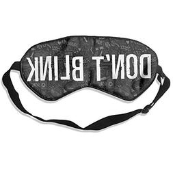 Vondielin Unisex Doctor Who Pure Silk Eye Mask Sleep Eye Mas