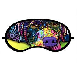 Dog Sleep Mask, Sleep Blindfold, Pure Cotton Eye Mask with A