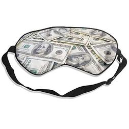 Dollars Cash Silk Sleep Eye Mask Lightweight And Comfortable