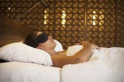 Nidra® Dreams Eye Mask – Face-Fitting Sleep Mask With Com