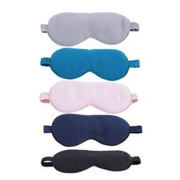 Eye Aid Relax Soft Elastic Strap Eye Mask Mulberry Silk Unis