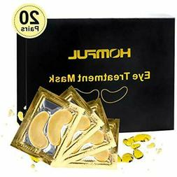 "Eye Complexes Treatment Mask, 24K Gold Collagen "" Anti-Aging"