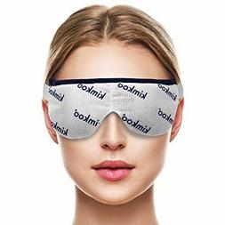 Kimkoo Eye Compress Moist Heat & Dry Eye Mask Microwave Heat