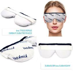 Kimkoo Eye Compress Moist Heat Dry Eye Mask - Microwave Heat