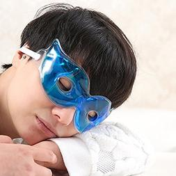 Ragdoll50 Eye Cooling Mask, Ice Gel Goggles Prevent Dark Cir