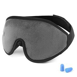Eye Cover Sleeping mask for Woman and Men, Patented Design 1