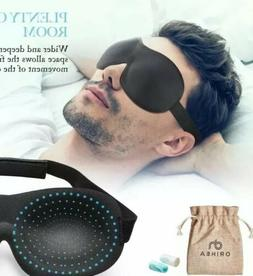 OriHea Eye Cover Sleeping Mask for Woman and Men, Patented D