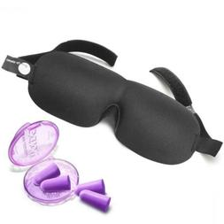 Drift to Sleep Eye Mask with 2 Pairs Soft Foam Moldex Ear Pl