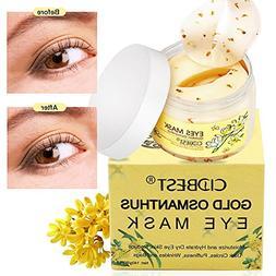Eye Mask, Eyes Gels,Collagen Eye Masks Eyepatch,Golden Osman