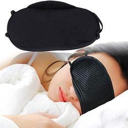 Eye Mask Cover Shade Blindfold Sleeping Sleep Rest Relax Eye