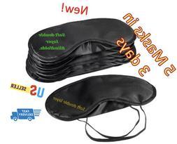 eye mask eyemask costume sleep double layer light  Blindfold