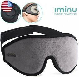 Eye Mask for Sleeping, Unimi 3D Contoured Sleep Mask & Blind
