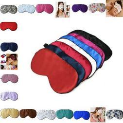 Eye Mask For Sleeping 3D Reusable Pure Natural Silk Portable