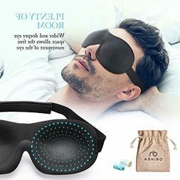 OriHea Eye Mask for Sleeping, Sleep Mask for Men and Women,